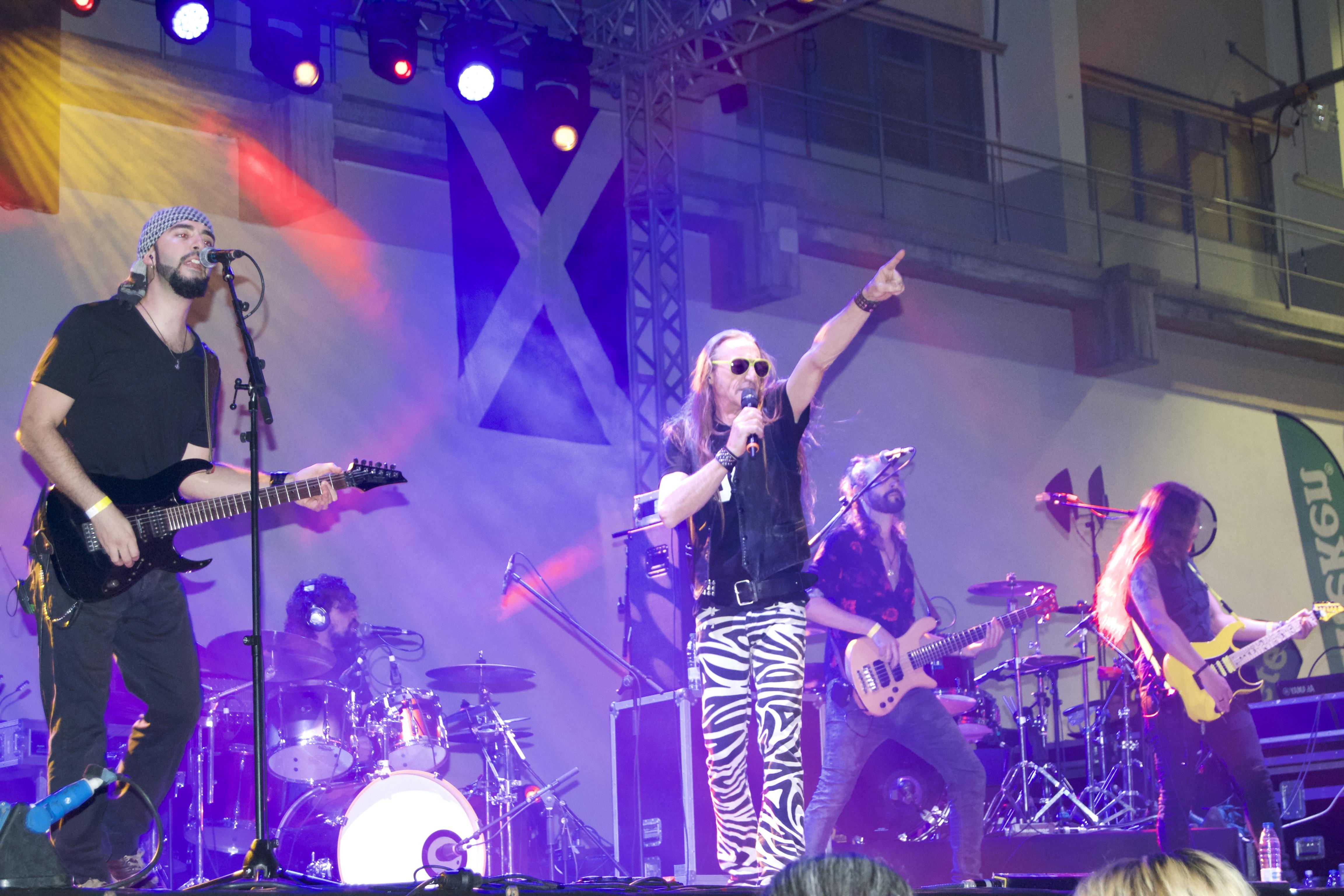 Ansiolíticos Rock - Rosendo en Tenerife
